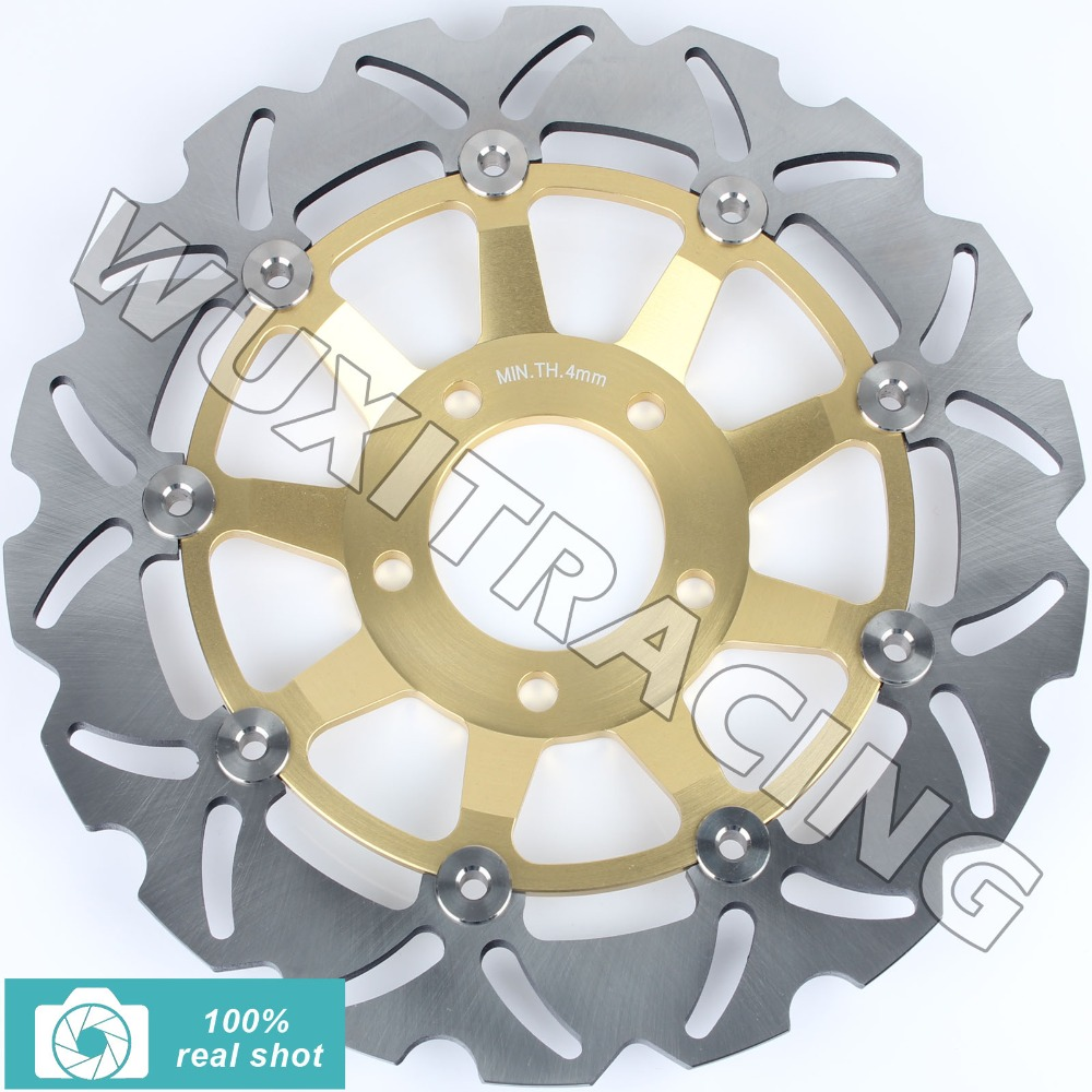for GSF BANDIT 250 90- Now GS E 500 88-03 89 90 91 92 93 94 95 96 GS F 500 04-11 05 06 07 08 09 GS 400 89 Front Brake Disc Rotor цена и фото