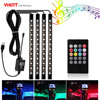 Car Led Strip Atmosphere Waterproof Lights 5050 4 In 1 36leds USB DC5V Music Sync RGB