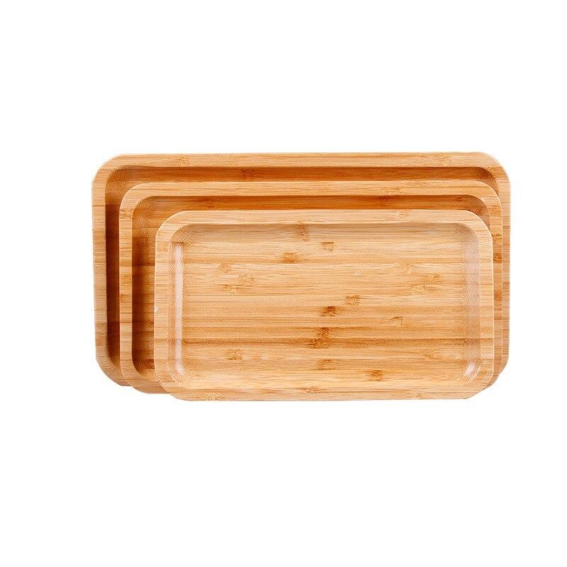 Plato de bandeja de bambú de forma rectangular platos de fruta plato de té bandeja de postre plato de Pan Negro Placa de deslizamiento del motor guardia Protector de cubierta para KTM EXC-F 250 de 350 seis días HUSQVARNA FE 250, 350, 2017-2019