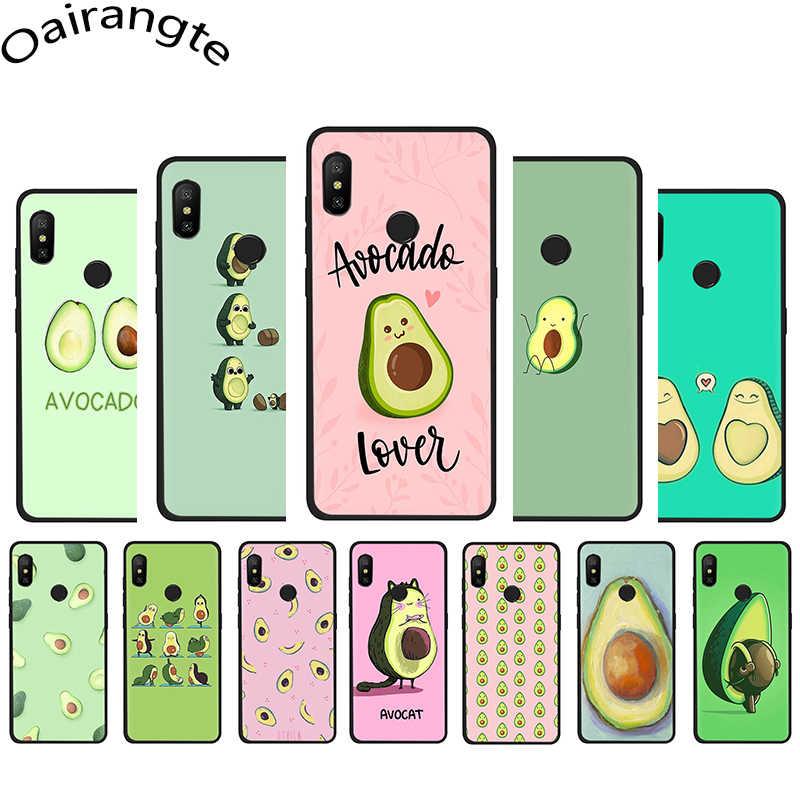 Mooie fruit avocado Leuke Soft Silicone Telefoon case voor Xiaomi 5X6 6X8 A1 A2 Lite 9 9se Max3 POCOPHONE F1 9T A3 Pro CC9e