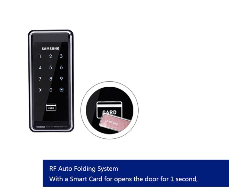 Numérique Samsung serrure de porte de sécurité SHS-2920 EZON Keyless