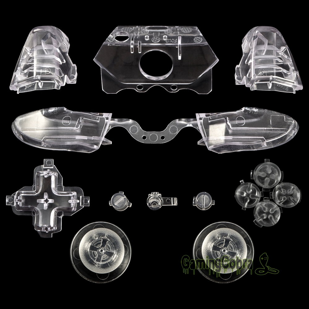 Custom Buttons Triggers For 3.5 Mm Jack Elite Xbox One Controller Transparent #NXOJ0807