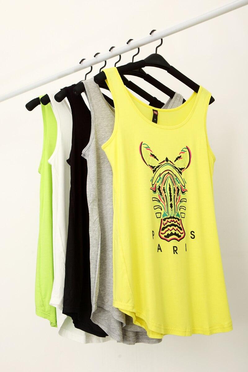 2013 summer fashion loose print small vest female big all-match casual sleeveless spaghetti strap basic top