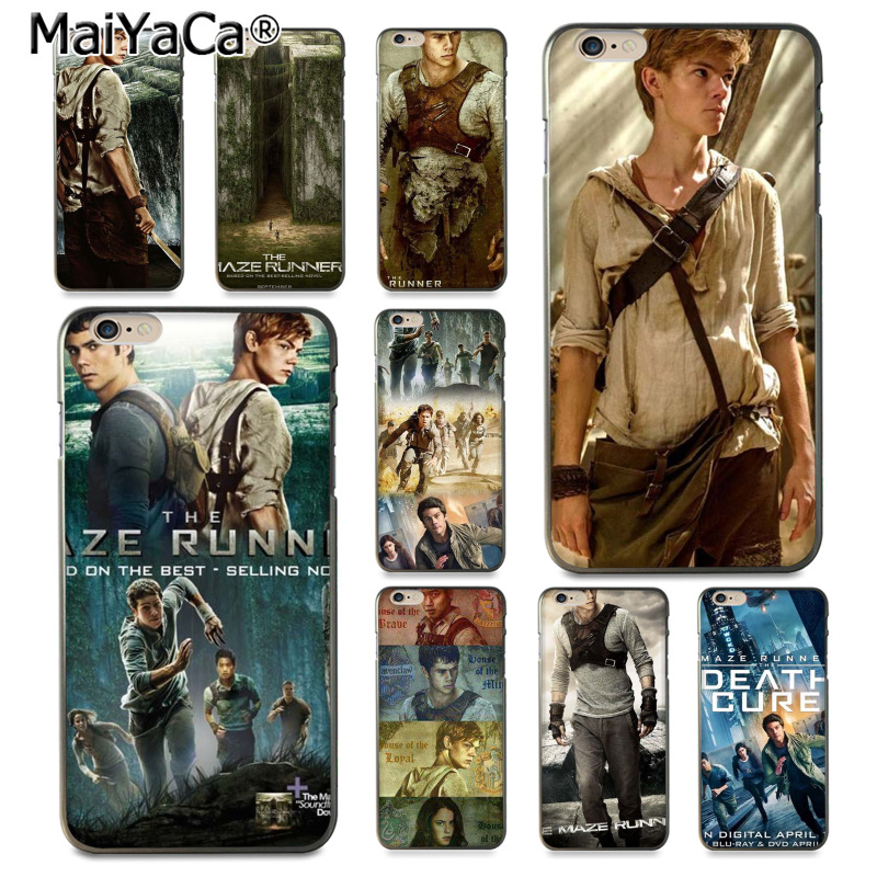 MaiYaCa The maze runner movie poster Luxury High-end Protector phone Case for iPhone 8 7 6 6S Plus X XS XR XSMax 10 5 5S SE