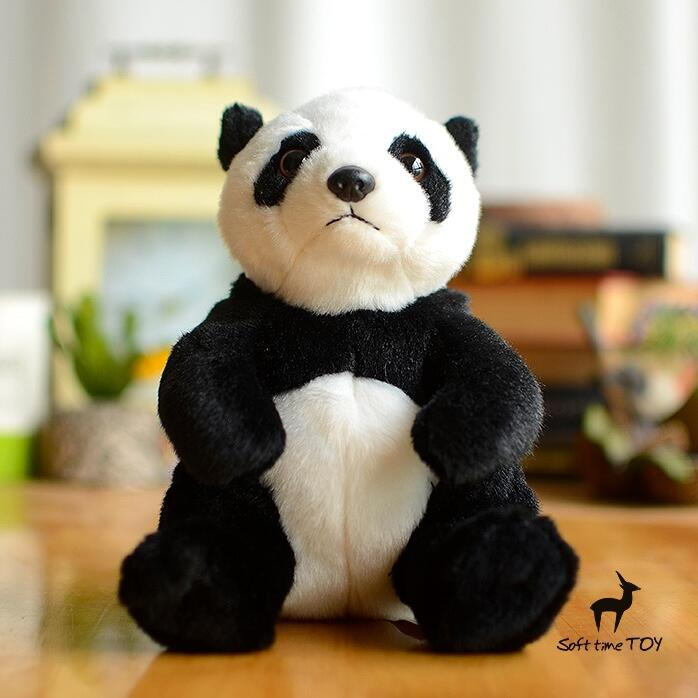 Super kawaii Plush Panda Doll Toys for childrens stuffed Toy Simulation Animals Gifts