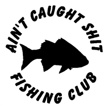 New Style Fishing Club Fish Funny Car Styling Car Boat Decal Vinyl Decorative Art Sticker Graphics Jdm new style motorcycle graphics
