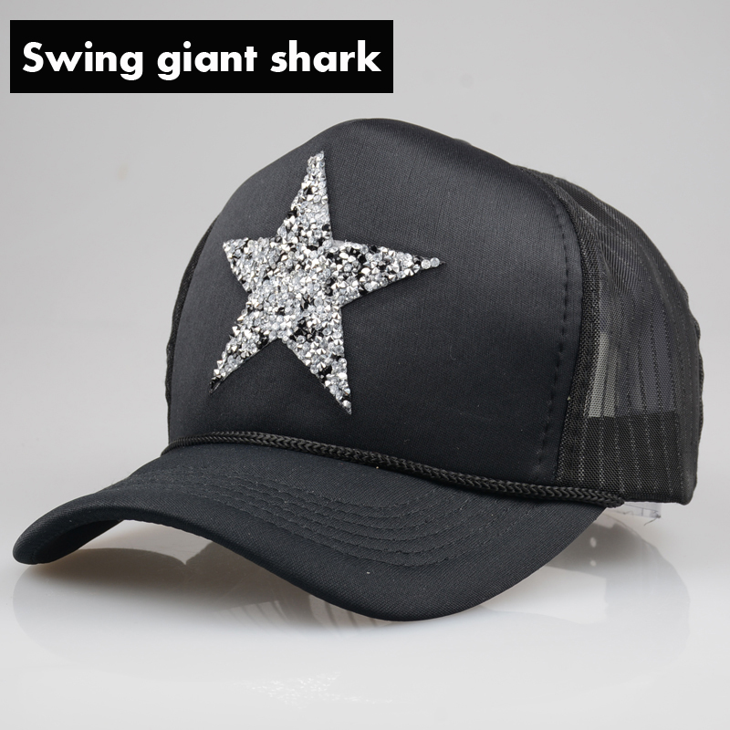swing giant font shark brand baseball cap summer paul and hat fin