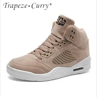 New listing hot sale Spring and autumn men Breathable Basketball shoes sports shoes T2036