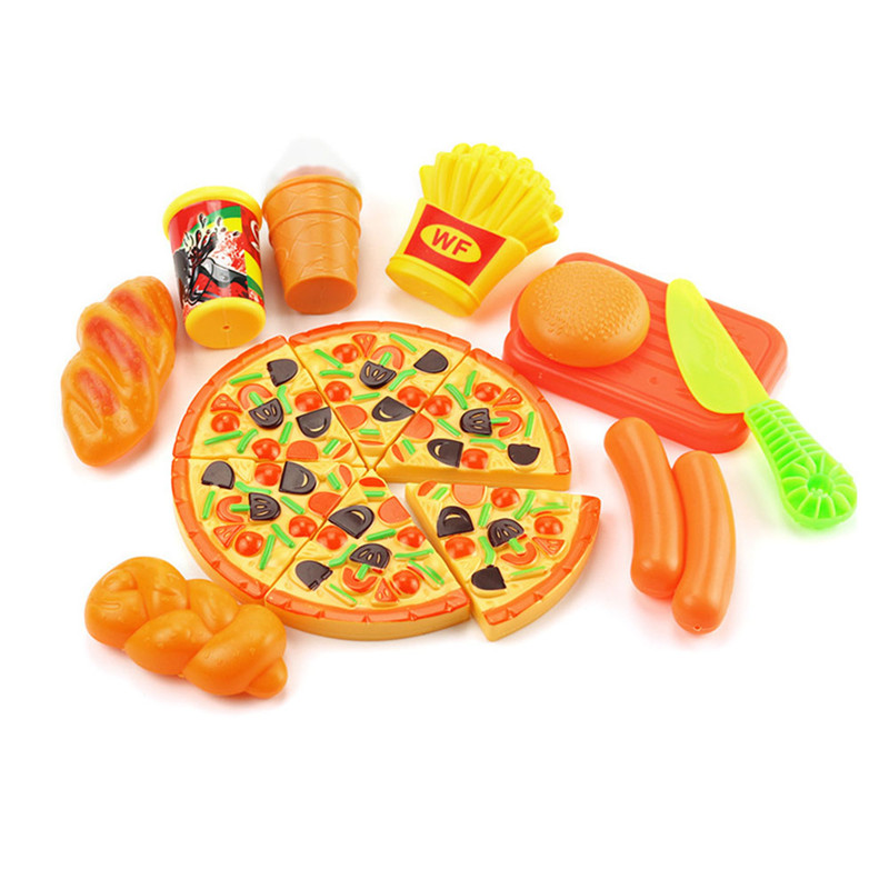 2018 New Arrival DHL Simulated food Kawaii Soft Pizza Bread gifts for kids Play house