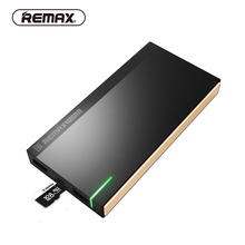 REMAX REPOWER 10000mAH Power Bank External Battery 3.0 Dual USB Data Transport with TE Slot Portable Charger for Mobile Phone