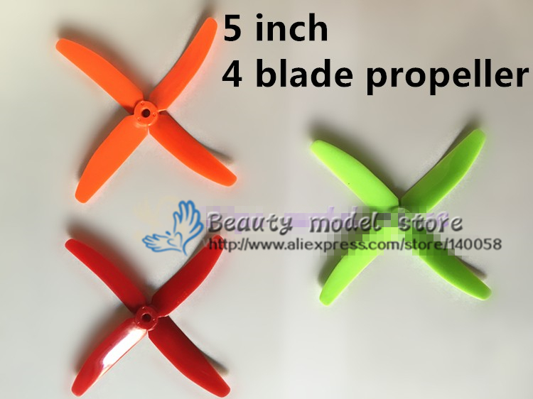 100PCS / 50pairs 5040 propellers high-quality 5 inch 4 blade propeller (CW/CCW) for DIY mini race drones 210 QAV-R220 quadcopter 50 pairs 100pcs 4040 propellers high quality 4 inch 4 blade propeller cw ccw for diy mini race drones 180 qav r quadcopter