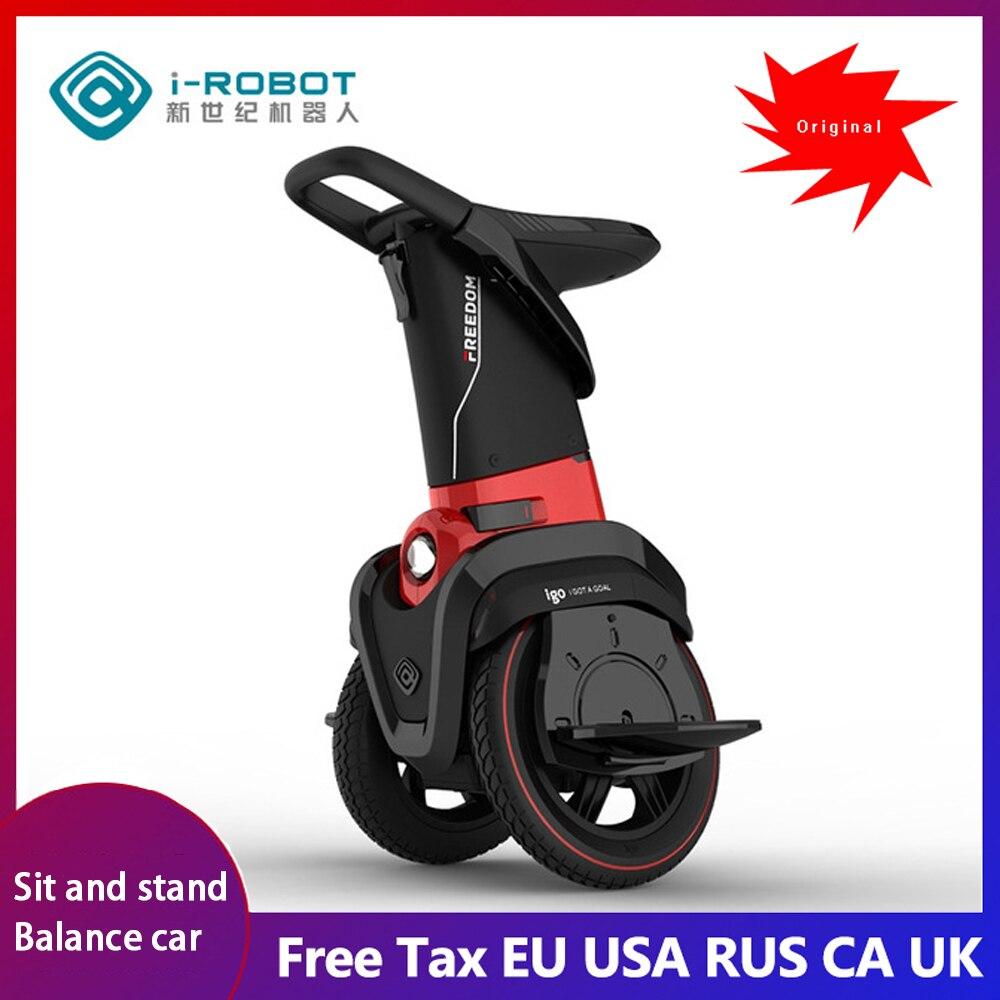 I-ROBOT-GO deux roues équilibrage véhicule Stand et assis adulte pliant scooter électrique auto-banlance corps sentiment véhicule