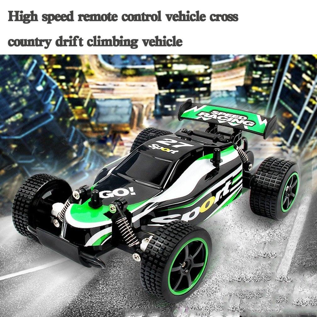 2.4g Hoge Snelheid Afstandsbediening Batterij Usb Opladen Voertuig Cross Country Drift Klimmen Voertuig Auto Speelgoed Mild En Mellow