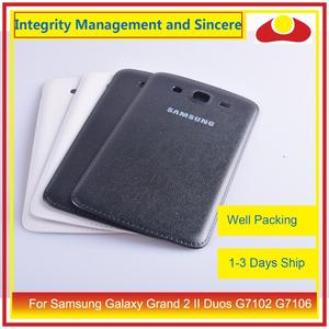 Image 5 - Original pour Samsung Galaxy Grand 2 II Duos G7102 G7106 boîtier batterie porte arrière couverture étui châssis coque remplacement