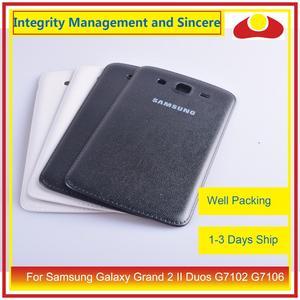 Image 5 - Оригинальный чехол для Samsung Galaxy Grand 2 II Duos G7102 G7106, задняя крышка батарейного отсека, задняя крышка корпуса, замена корпуса