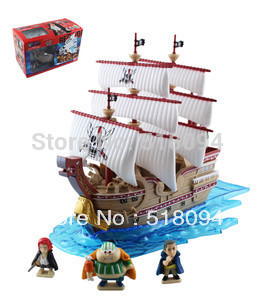 Japanese Anime One Piece Grand SHIP Collection The Red Force Pirate New in Box Figure