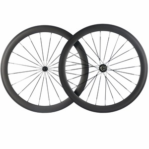 Image 3 - Factory Sales 700C Carbon Wheelset Tubular 38mm 50mm 60mm 88mm Carbon Bicycle Wheels Clincher Road Bike Wheels Basalt Braking