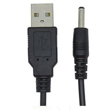 LBSC USB A to DC 3.5 mm/1.35 mm 5 Volt DC Barrel Jack Power Cable недорго, оригинальная цена