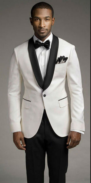 Aliexpress.com : Buy Top sales new white coat and black satin ...