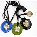 Collares 2016 кожа акриловая смола ожерелья и кулоны za моды колье заявление длинные ожерелья шарма для женщин изящных ювелирных изделий
