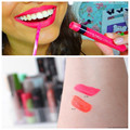 1Pc Fluorescence Matte Lip Gloss Waterproof Long Lasting 2 colors