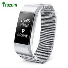 Trozum S18 смарт-браслет Поддержка сердечного ритма артериального давления сообщение напоминание фитнес-трекер Smart Band Smart Браслет