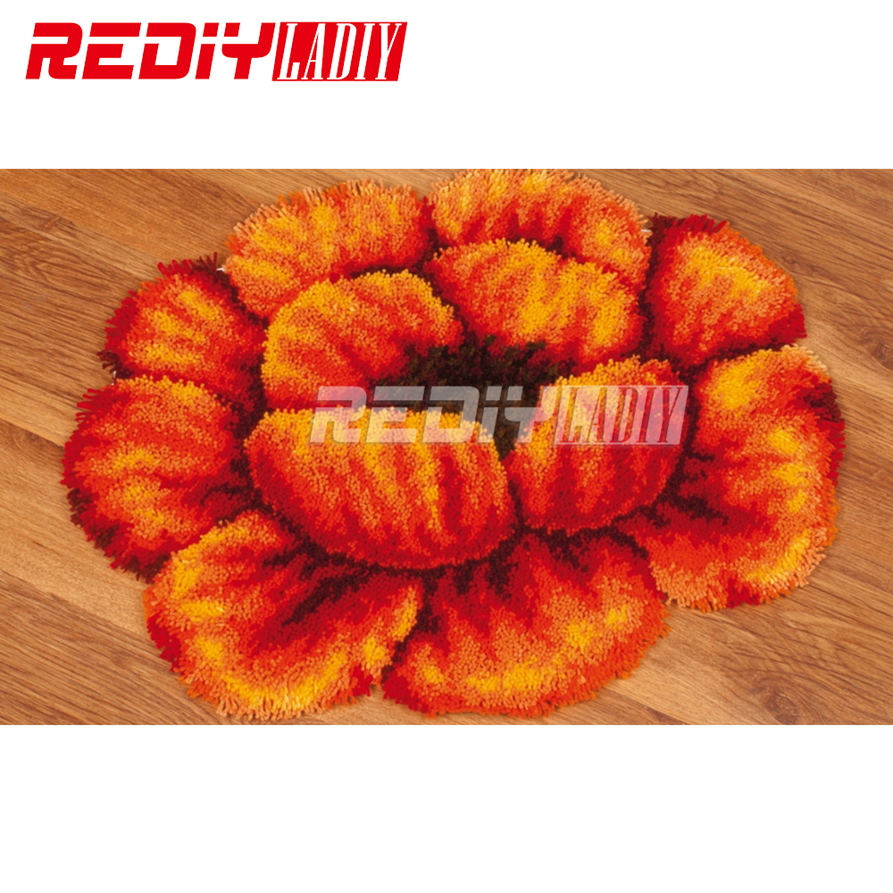Aliexpress Com Buy Latch Hook Rug Kits Flowers Poppy 3d