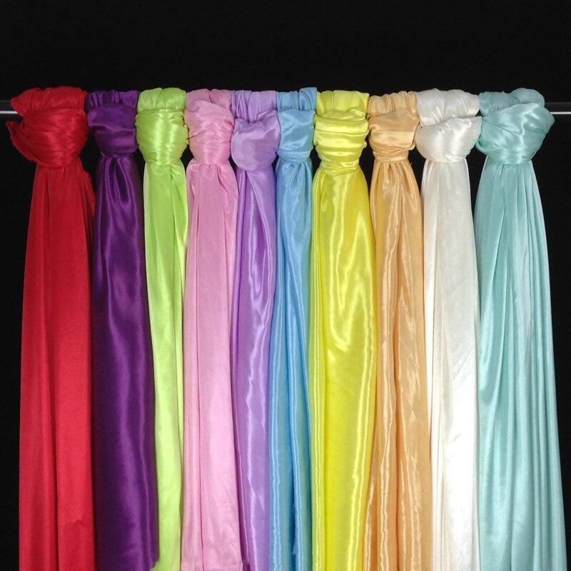 10 meter wedding ice silk material wedding gauze curtain for drapery decoration luxury drapery fabric for