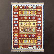 Morocco Восточно-Средиземноморский стиль ручная тканая Шерсть ковер/ковер килим/ковер гостиная журнальный столик gc137-28