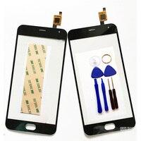 New Black Touch Screen For Meizu M2 Mini Glass Capacitive Sensor For Meizu M2 Mini 5