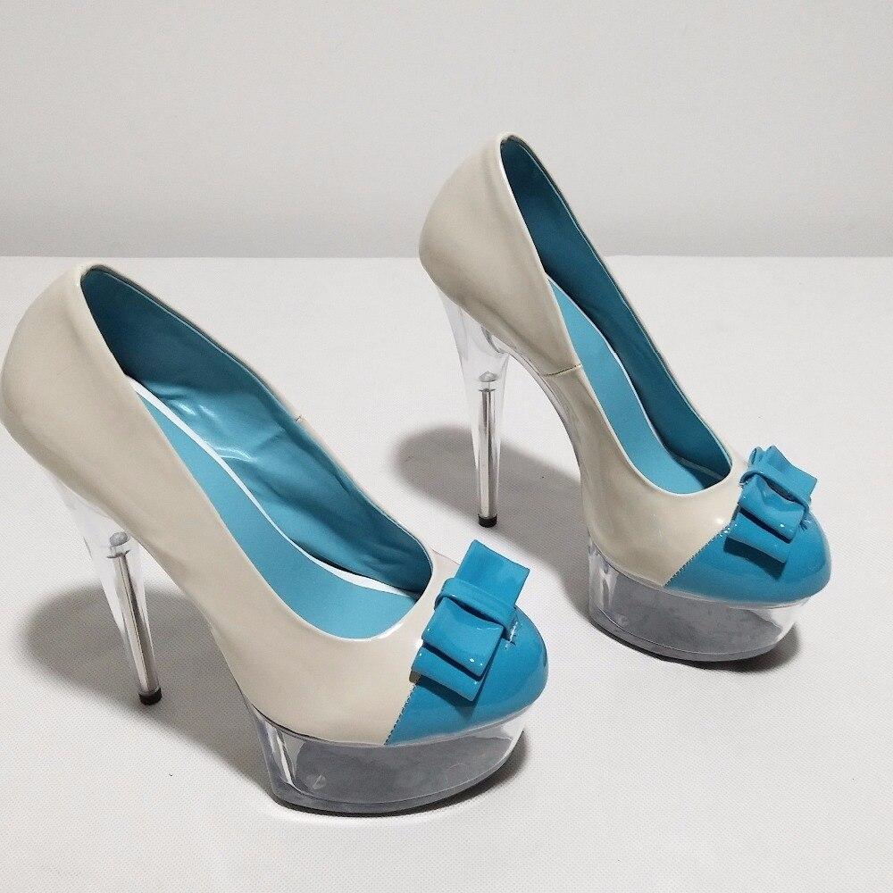 Bowknot Solo Temperamento 01 Zapatos Sexy Altos Cm Negro Del 15 De Tacones Señora Kawaii Lindo La Y Partido Princesa vpWwPq8PU