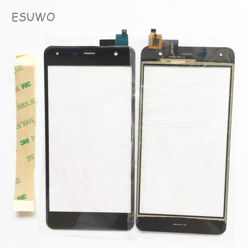 ESUWO New Sensor Touch Screen For Fly FS517 FS 517 Touchscreen Digitizer Front Glass Len ...