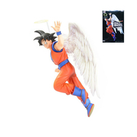 XINDUPLAN Dragon Ball Z DS Sahneleri Son Goku Kakarotto Süper Saiyan Dragonball Melek Aksiyon Figürü Oyuncak 16 cm PVC Model Toplamak 0840