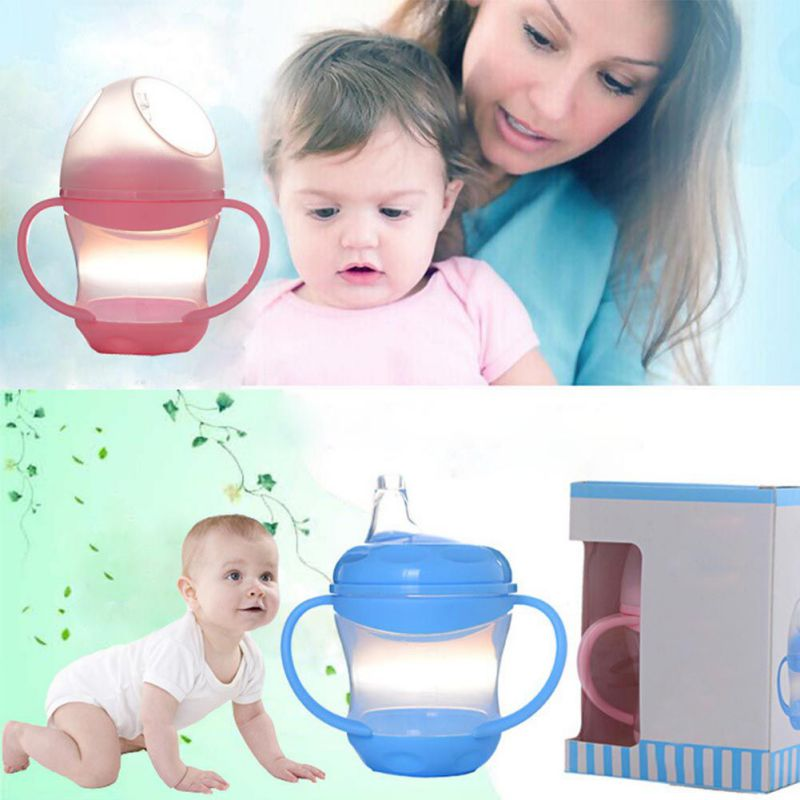 2017 Delicate Newborn 160ml Baby Drink Water Bottles Baby Training Cups Feeding Bottle for Water