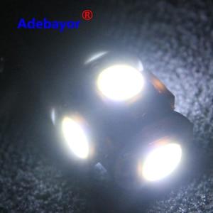 Image 3 - 300X T11 BA9S 5 SMD 5050 Led lampen 5SMD T4W 1445 Q65B H6W 182 53 57 Auto Indikatoren Licht innen Birne Keil Lampe 7 farbe