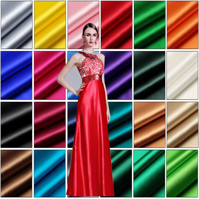110cm Wide 1meter Good Pure Silk Fabric Real 100% Silk