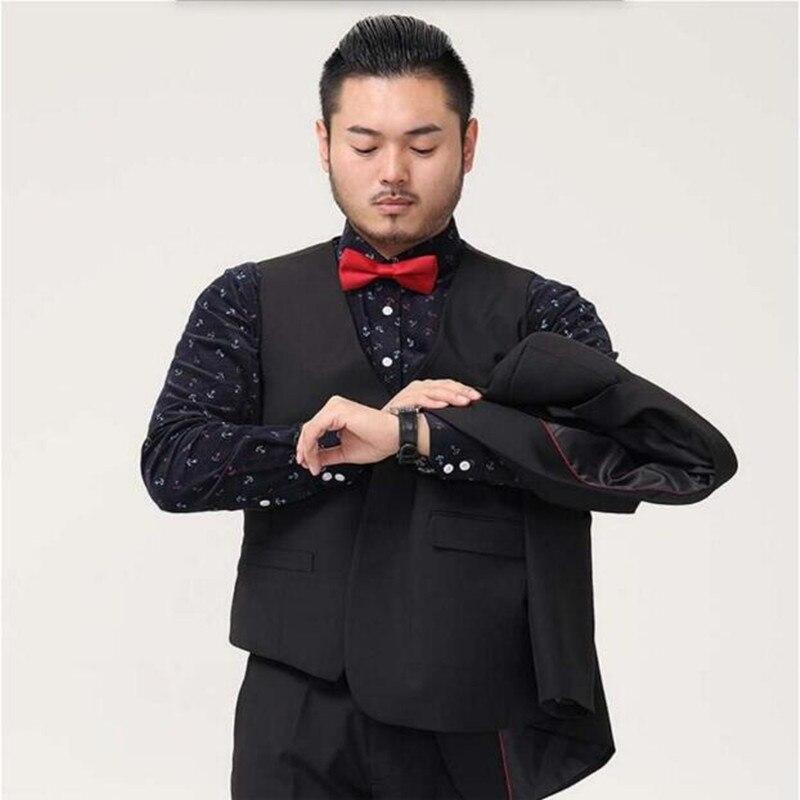 Eccezionale Mens Suit Vest Abbigliamento Business Casual Da Sposa Gilet Da  FJ98