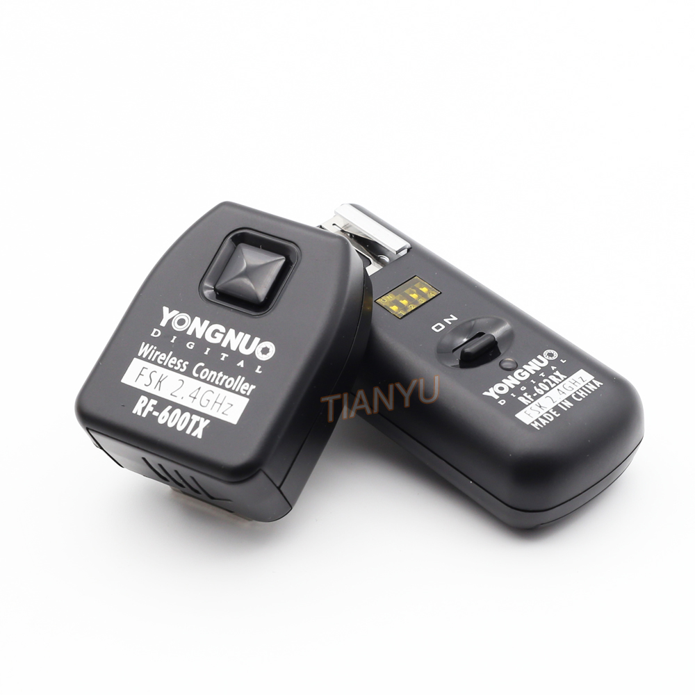 YONGNUO RF-602 2.4GHz Wireless Flash Trigger with Studio Cord with 1 Receiver for Nikon D70/ D70s/D80 цена и фото