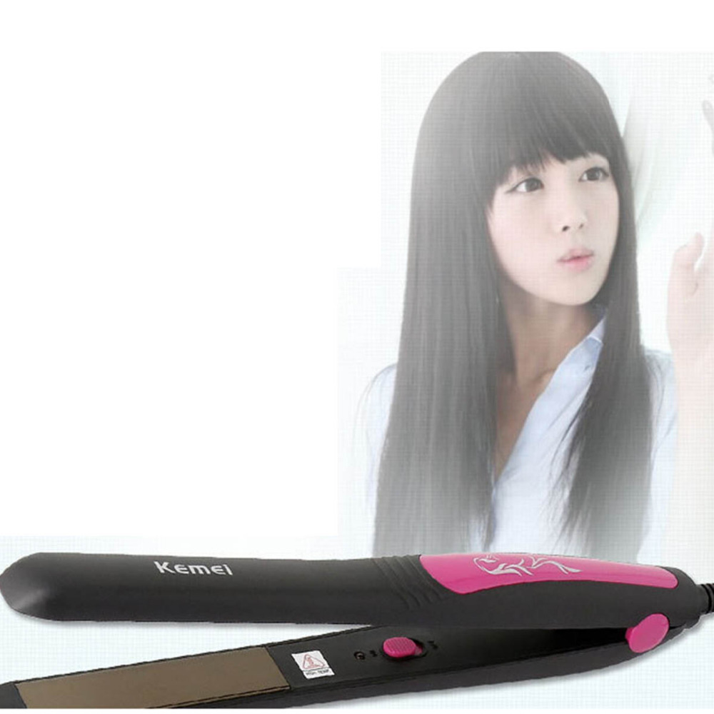 Professional 110-240V Ceramic Hair Straightener Flat Iron Straightening Irons Styling Tools Hair Artifact lisseur Wholesale braun satin hair 7 iontec straightener st730 hair care styling tools curling straightening irons professional roller 100 240v