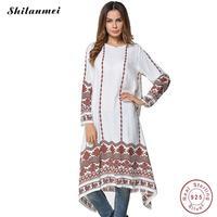Dress 2017 Women Long Sleeve Dress Maxi Long Dress Geometry Clothing Moroccan Kaftan Elegant Embroidery Ethnic