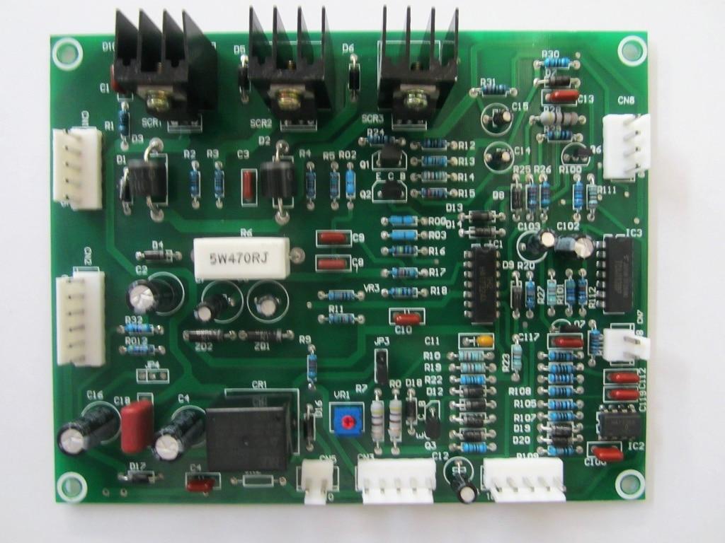 gas shielded welder MIG 3 circuit board welder maintenance parts gas shielded welding machine control panel