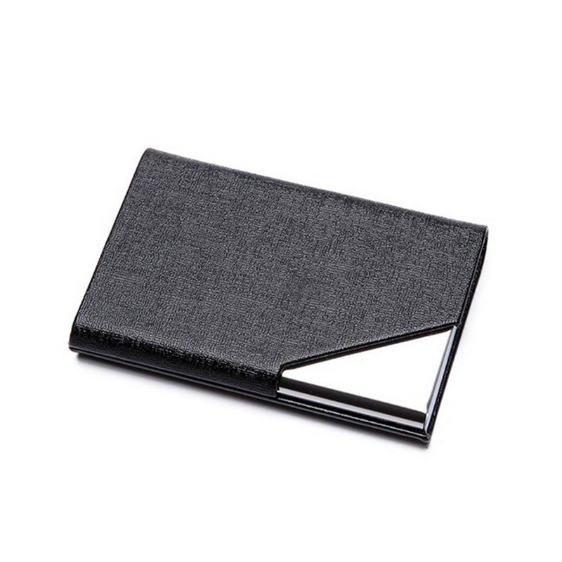Business ID Credit Card Holder For Women Men Fashion Brand Metal ...