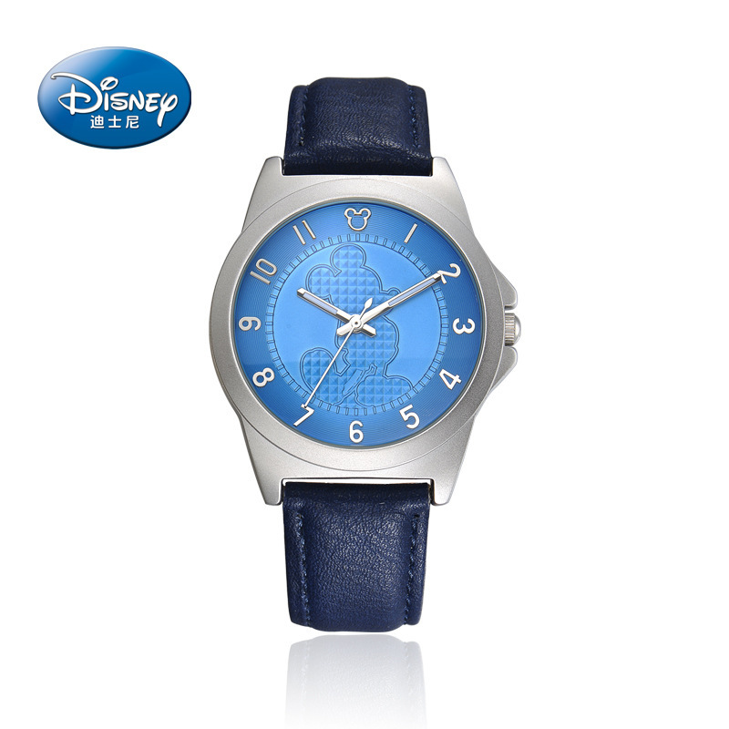 online get cheap mens disney watch aliexpress com alibaba group original disney children mens sports wrist watches leather men quartz clocks casual waterproof mickey mouse number