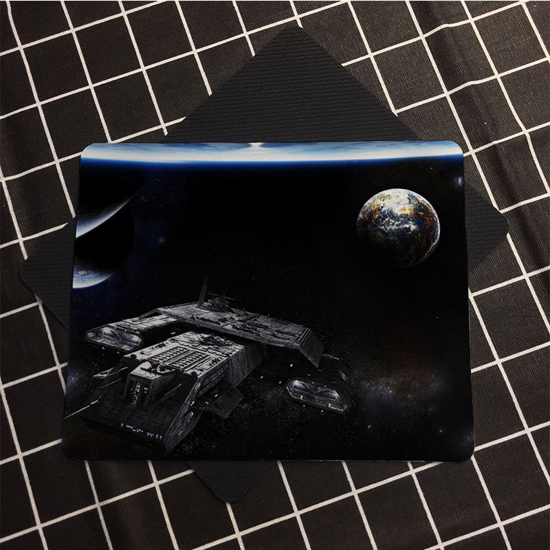 Us 2 51 Babaite Mat Daedalus Stargate Customized Control Speed Black Game Mouse Pad Mat Mice Pad For Optical Trackball Mouse In Mouse Pads From