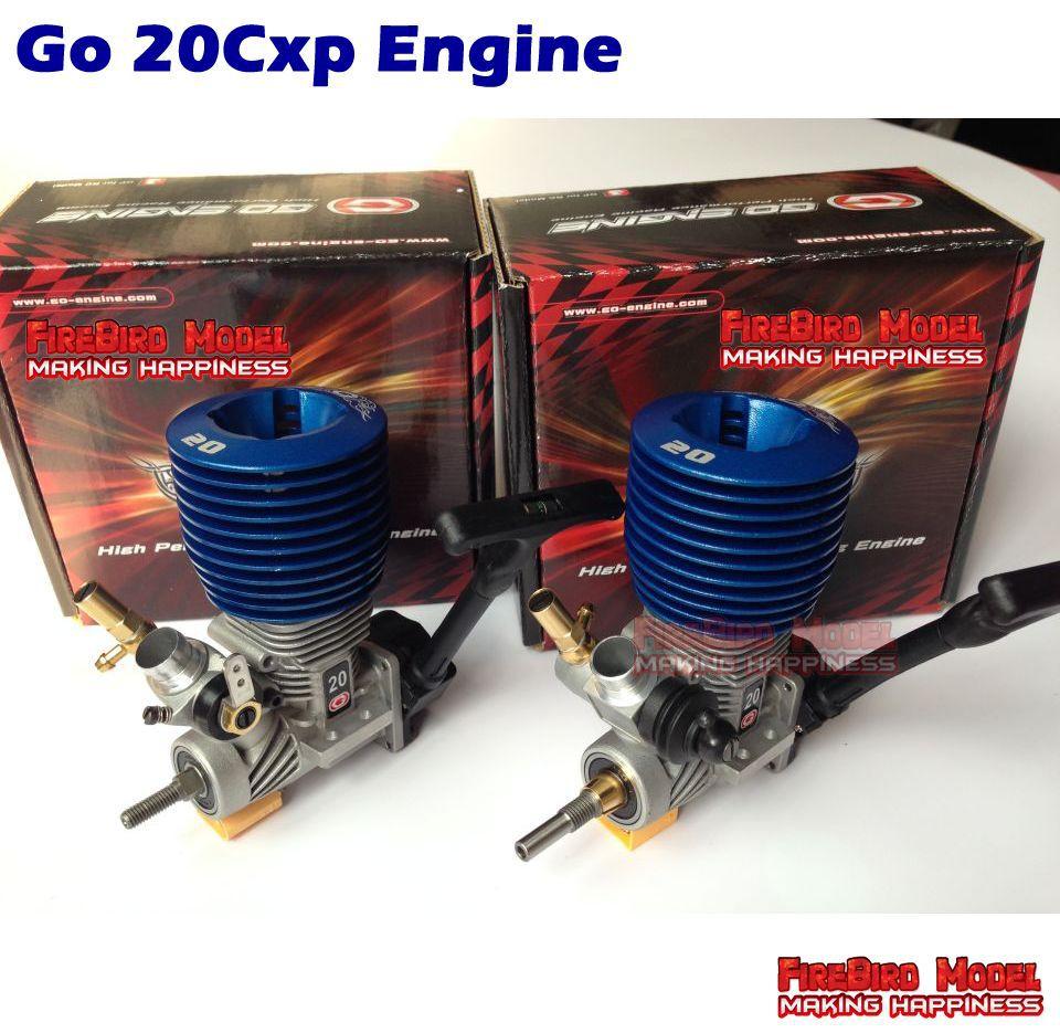 Sports Car Engine Parts : Original go brand cxp cc nitro engine for scale