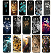 29 colorful Lion Tiger leopard Wolf TPU Soft Silicone Case For
