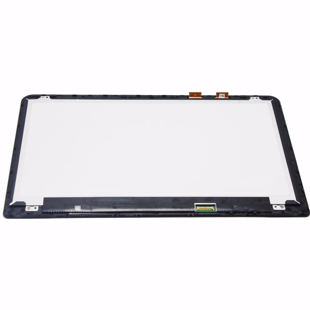 15.6'' Touch Screen Digitizer +LCD Display Assembly+Frame For HP ENVY x360 m6-w series m6-w010dx m6-w011dx m6-w103dx m6-w102dx 15 6 lcd display matrix touch screen digitizer assembly with bezel for hp envy x360 m6 w102dx m6 w101dx m6 w104dx m6 w015dx