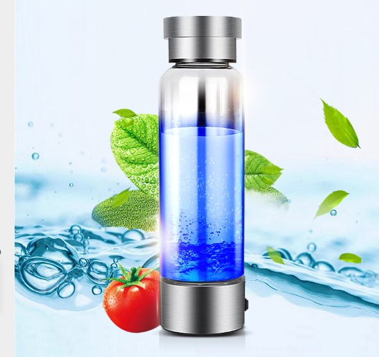 Portable Hydrogen Generator Ionizer For Pure H2 Rich Hydrogen Water Bottle hydrogen 350ML Drink Hydrogen Water USB new arrival hydrogen generator hydrogen rich water machine hydrogen generating maker water filters ionizer 2 0l 100 240v 5w hot