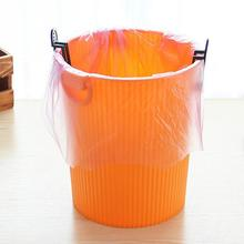 Plastic Black 2pcs Dustbin Waste Bin Trash Bag Fixed Garbage Can Clip Rubbish Bag Clamp for Household Office Hotel 8.5*3.2cm