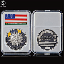 USA Challenge Military Air Forces Medal Meritorious Achievement In Aerial Flight Commemorative Coin Soldier
